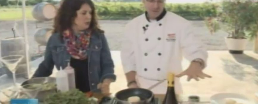 CHCH Morning Live at Between the Lines Winery with Chef Ron Kneabone