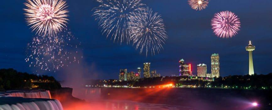 2016 Niagara Falls Fireworks Schedule Released