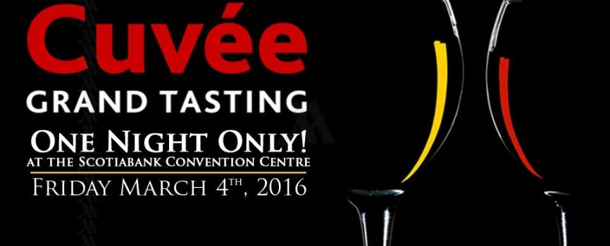 Experience the Cuvée Grand Tasting with Marriott Fallsview