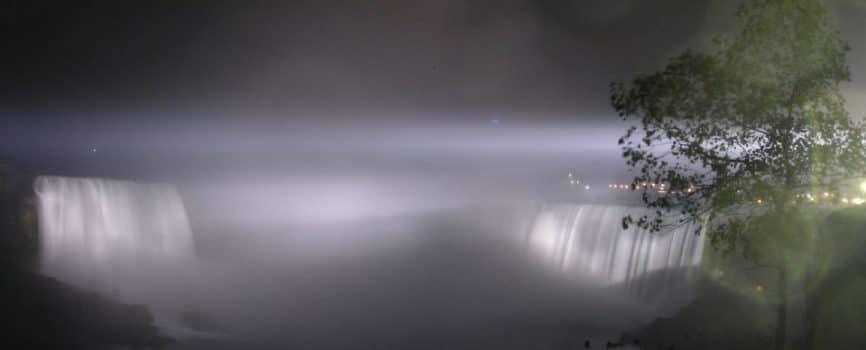 Niagara Falls Earth Hour 2012