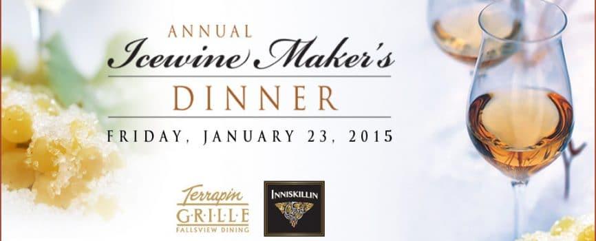 Icewine Maker's Dinner Menu Announced