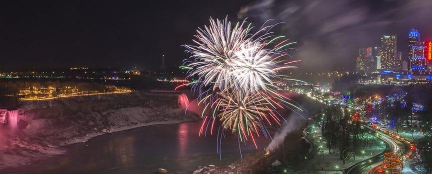 Niagara Falls New Years 2015
