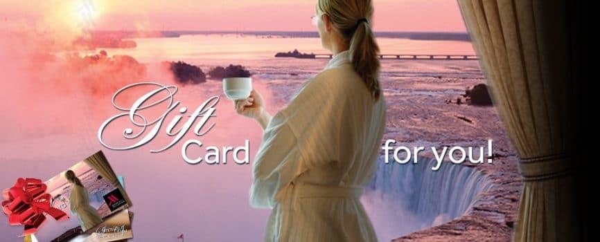 Holiday Gift Idea: Niagara Falls Marriott Gift Cards