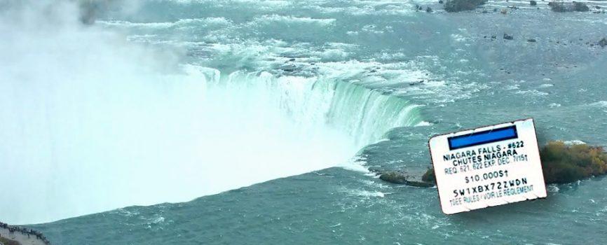 McDonalds Monopoly Niagara Falls Piece