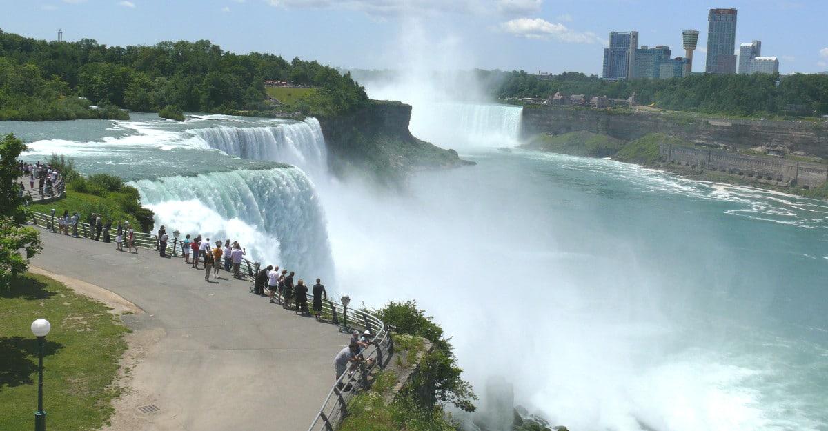 Niagara Falls State Park NY USA