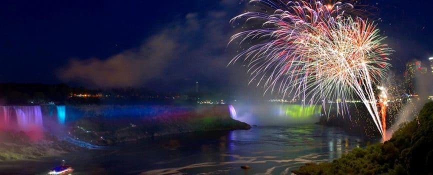 Niagara Falls Fireworks Photography Tips