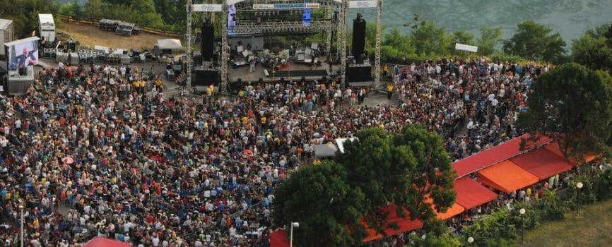 Top Three Outdoor Concert Venues in the Niagara Region