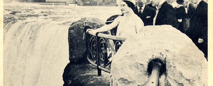 Queen Elizabeth in Niagara Falls