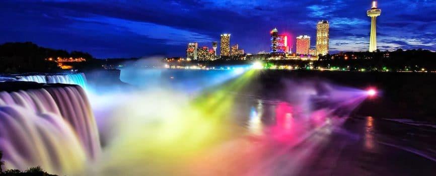 Niagara Falls Illumination Lights Upgraded