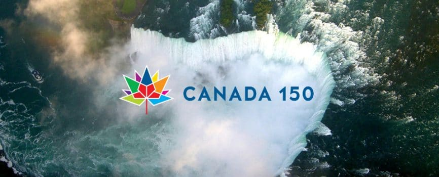 Celebrating Canada 150 in the Falls