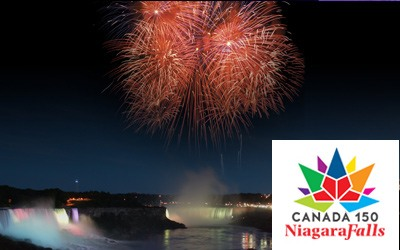 Niagara 150 Canada Day Fireworks