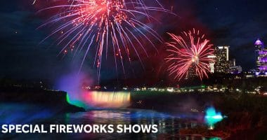 Special Fireworks Shows Happening in Niagara Falls