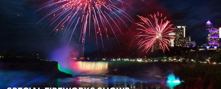 Fireworks Niagara Falls 2018