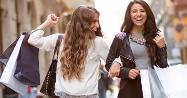 Girls on Shopping Trip