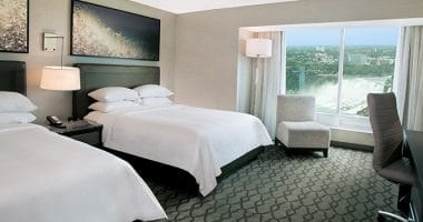 Marriott Fallsview Riverview Two Queen Room