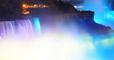 Niagara Falls Illumintaion